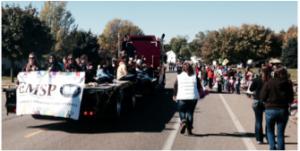 SMSU Homecoming parade 2014