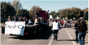 SMSU Homecoming parade 2014