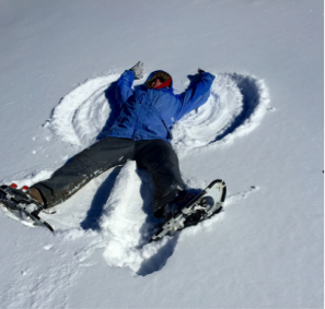 BLOG snow angel