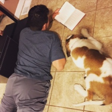 BLOG Jackson reading to Stella