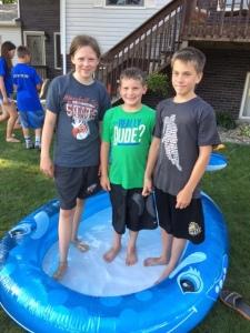BLOG kids in the pool
