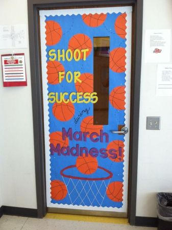 Blog March Madness Door