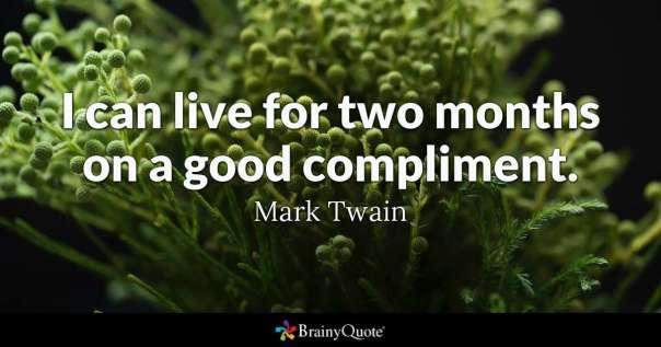 Blog compliments twain