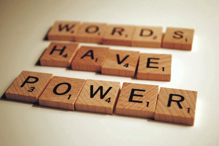 Blog power of words