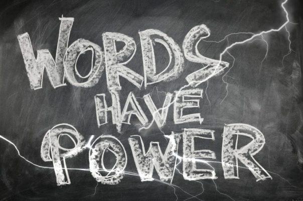Blog words power
