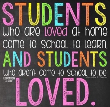 Blog students who are loved at home
