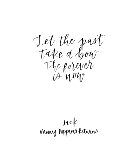 Blog let the past take a bow