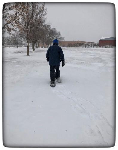 blog snowshoeing dean
