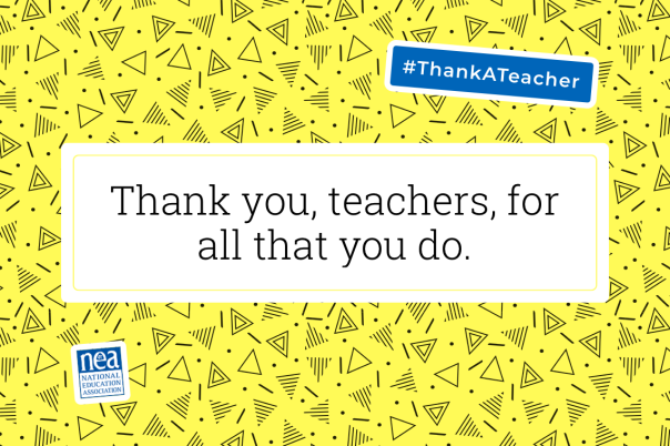 blog thank a teacher