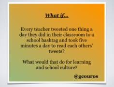 Blog Couros tweet