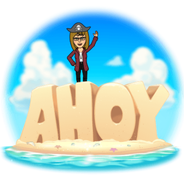 Blog Pirate Bitmoji