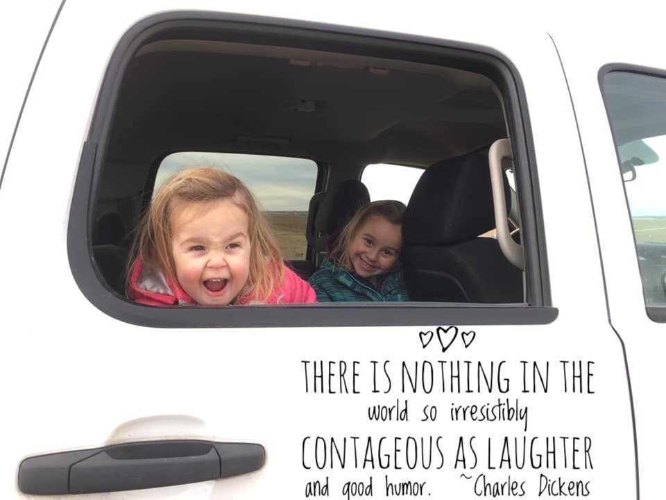 Blog laughter Lucy