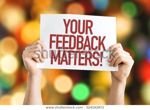 Blog Feed back matters